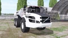 Volvo A40G white для Farming Simulator 2017