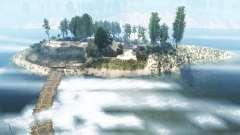 Береговая полоса реки для MudRunner