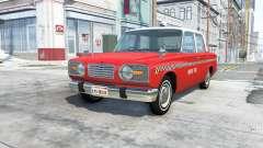 Ibishu Miramar Taxi v1.011 для BeamNG Drive