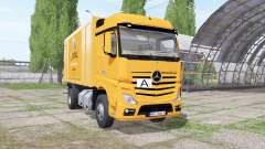 Mercedes-Benz Actros (MP4) garbage truck для Farming Simulator 2017