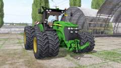 John Deere 7930 twin wheels для Farming Simulator 2017