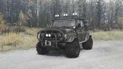 УАЗ 3151 Трофи для MudRunner