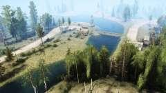 Речной край для MudRunner