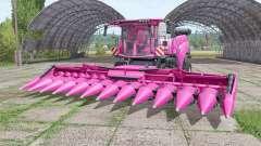 New Holland CR10.90 pink для Farming Simulator 2017