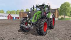 Fendt 936 Vario SCR green and red для Farming Simulator 2015