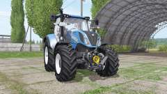 New Holland T6.160 v1.1 для Farming Simulator 2017