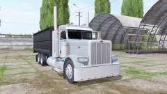 Peterbilt 389 grain truck для Farming Simulator 2017