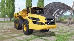 Volvo A40G dumper для Farming Simulator 2017