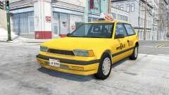 Ibishu Covet New York Taxi v0.12 для BeamNG Drive