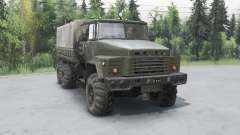 КрАЗ 260 6x6 для Spin Tires