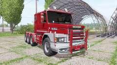Scania T112HW 8x8 для Farming Simulator 2017