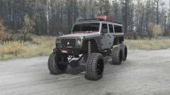 Jeep Wrangler Unlimited 6x6 (JK) crawler для MudRunner