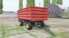 Zmaj 489 v1.3 для Farming Simulator 2017