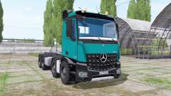 Mercedes-Benz Arocs 2013 hooklift для Farming Simulator 2017