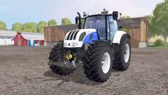 Steyr 6230 CVT white для Farming Simulator 2015