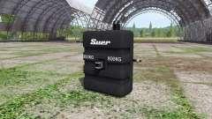 Weight Suer 800 kg для Farming Simulator 2017