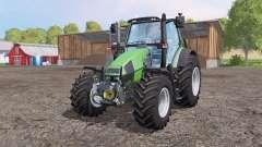 Deutz-Fahr Agrotron 120 Mk3 front loader green для Farming Simulator 2015