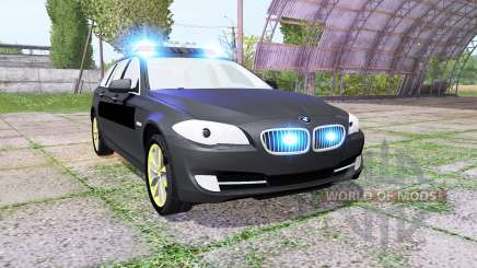 BMW 530d Touring (F11) undercover police для Farming Simulator 2017