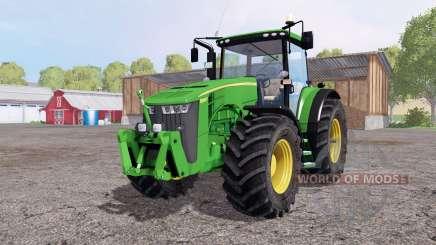 John Deere 8360R green yellow для Farming Simulator 2015