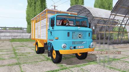 IFA W50 L cattle transport v1.2 для Farming Simulator 2017
