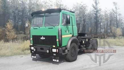 МАЗ 6425 для MudRunner