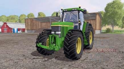 John Deere 7810 green yellow для Farming Simulator 2015