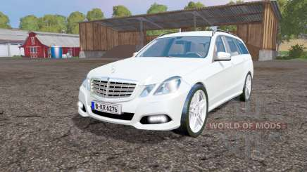 Mercedes-Benz E 350 CDI Estate (S212) 2009 для Farming Simulator 2015