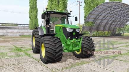 John Deere 6135R v2.6 для Farming Simulator 2017