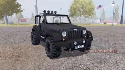 Jeep Wrangler (JK) v2.1 для Farming Simulator 2013