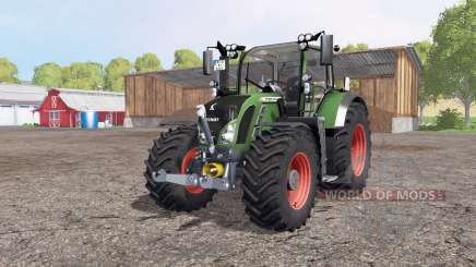 Fendt 724 Vario SCR green для Farming Simulator 2015
