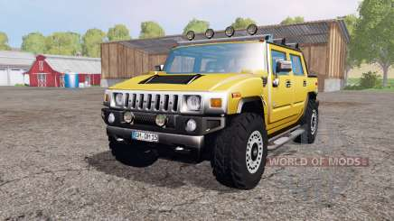 Hummer H2 SUT 2005 для Farming Simulator 2015