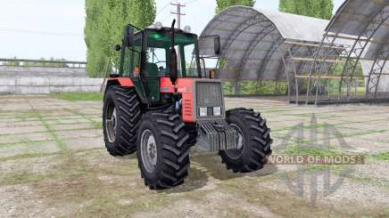 МТЗ 820 Беларус v2.1 для Farming Simulator 2017