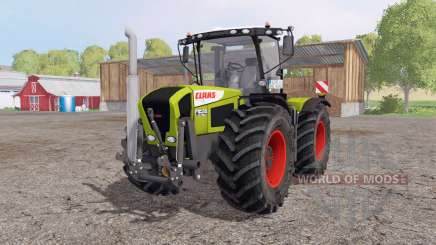 CLAAS Xerion 3300 Trac VC green red для Farming Simulator 2015
