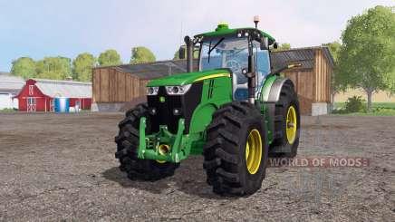 John Deere 7200R 4x4 для Farming Simulator 2015