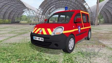 Renault Kangoo Sapeurs Pompier для Farming Simulator 2017