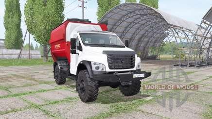 ГАЗ ГАЗон Next (C41R13) 2014 кормосмеситель для Farming Simulator 2017