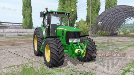 John Deere 6930 Premium v1.0 для Farming Simulator 2017