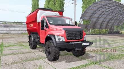 ГАЗ ГАЗон Next (C41R13) 2014 кормосмеситель v1.1 для Farming Simulator 2017