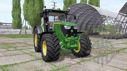 John Deere 6145R v2.7 для Farming Simulator 2017