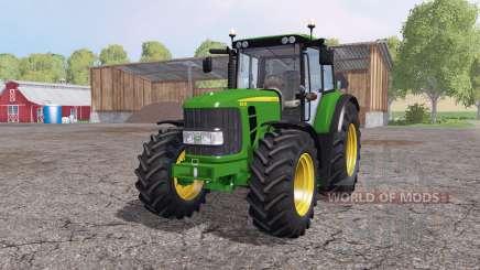 John Deere 6630 Premium v1.2 by Timber131 для Farming Simulator 2015