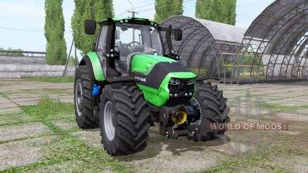 Deutz-Fahr Agrotron 6190 TTV green для Farming Simulator 2017