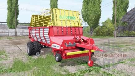 POTTINGER EUROBOSS 330 T twin tires v1.5 для Farming Simulator 2017