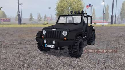 Jeep Wrangler (JK) v2.2 для Farming Simulator 2013