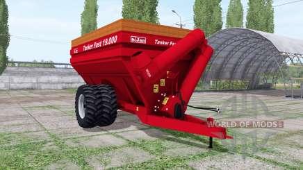 Jan Tanker Fast 19.000 для Farming Simulator 2017