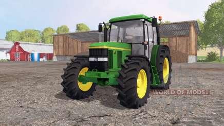 John Deere 6410 green для Farming Simulator 2015