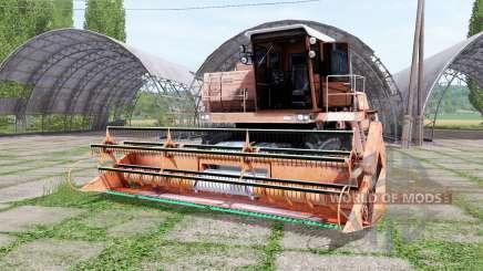 Дон 1500А оранжевый для Farming Simulator 2017