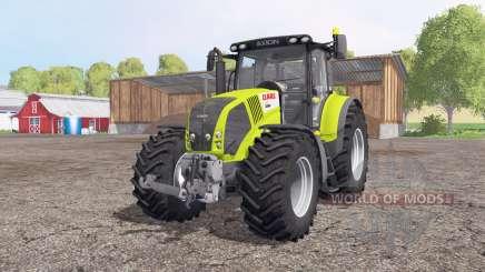CLAAS Axion 850 green white для Farming Simulator 2015