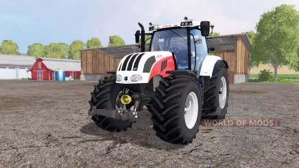 Steyr 6230 CVT red для Farming Simulator 2015