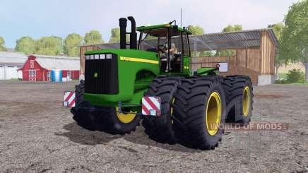 John Deere 9400 double wheels для Farming Simulator 2015