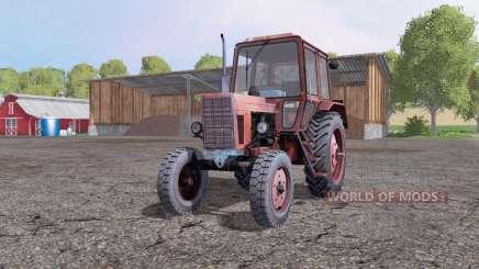 МТЗ 80 Беларус 4x4 красный для Farming Simulator 2015